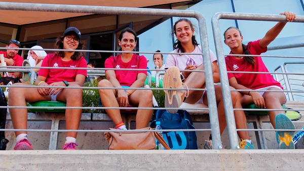 01.02 Looking at the match - Team Spain - Junior fed cup european final round girls 16 years and under 2018