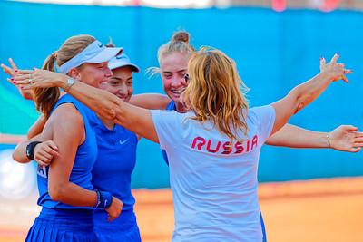 01.01h We won  - Team Russia - Junior fed cup european final round girls 16 years and under 2018