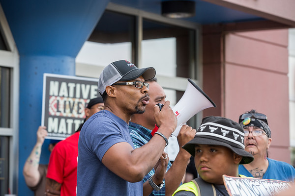 Justice for Billy Hughes Rally and March, Saint Paul, August 7 2018