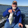DENNIS BOATS A NICE CRAPPIE ON KENTUCKY LAKE