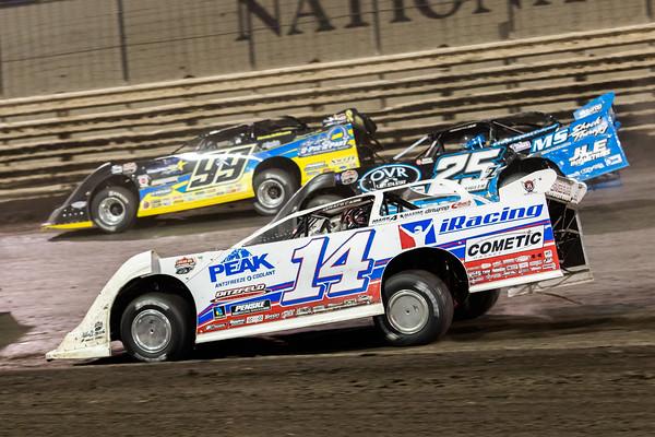 Darrell Lanigan (14), Mason Zeigler (25Z) and Frank Heckenast, Jr. (99JR)