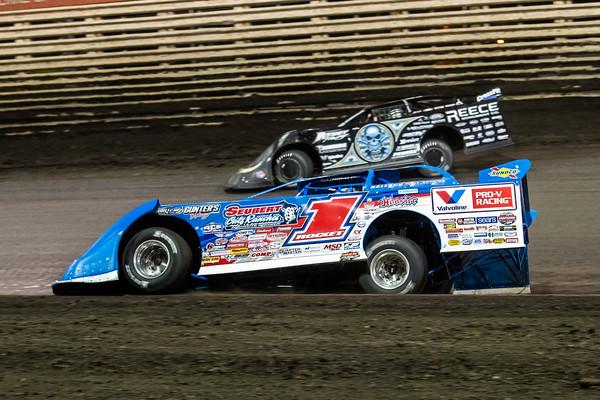 Brandon Sheppard (1) and Scott Bloomquist (0)