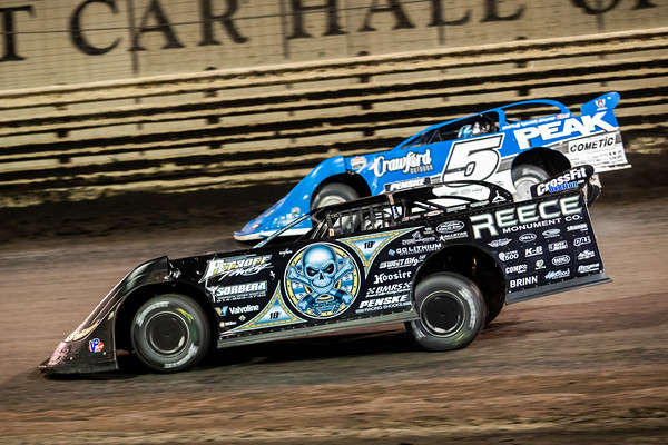 Scott Bloomquist (0) and Don O'Neal (5)