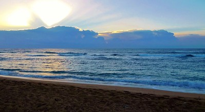 Sunrise from Kapaa Beach 2018