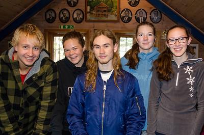 INFO_Klubbmestere2018_Håkon, Kristine, Erik, Amalie og Sofie