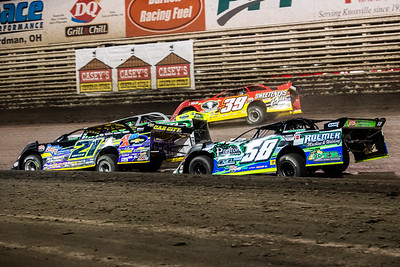 Billy Moyer (21), Chad Simpson (25), Tim McCreadie (39) and Jeremiah Hurst (58H)