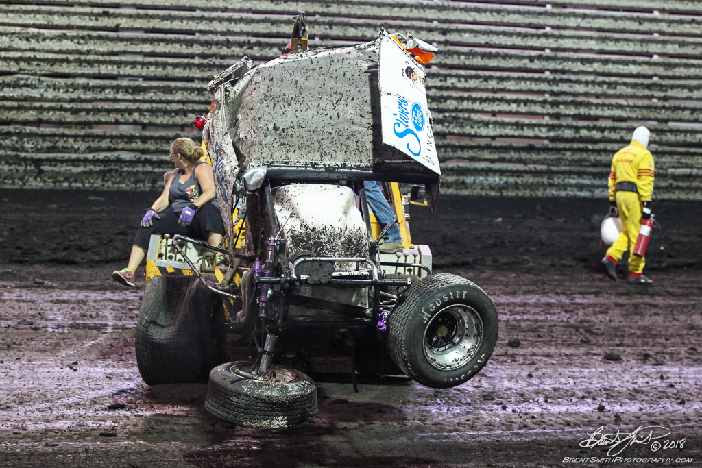 58th Annual 5-hour ENERGY Knoxville Nationals presented by Casey's General Stores - Knoxville Raceway - 9R Rager Phillips