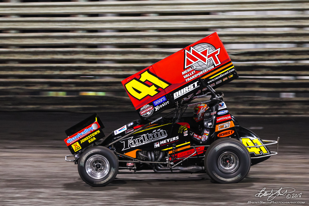 58th Annual 5-hour ENERGY Knoxville Nationals presented by Casey's General Stores - Knoxville Raceway - 41 Carson Macedo