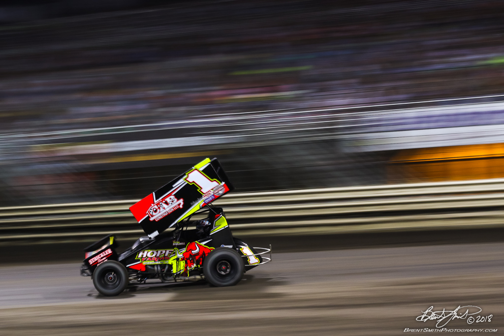 58th Annual 5-hour ENERGY Knoxville Nationals presented by Casey's General Stores - Knoxville Raceway - 1 Sammy Swindell