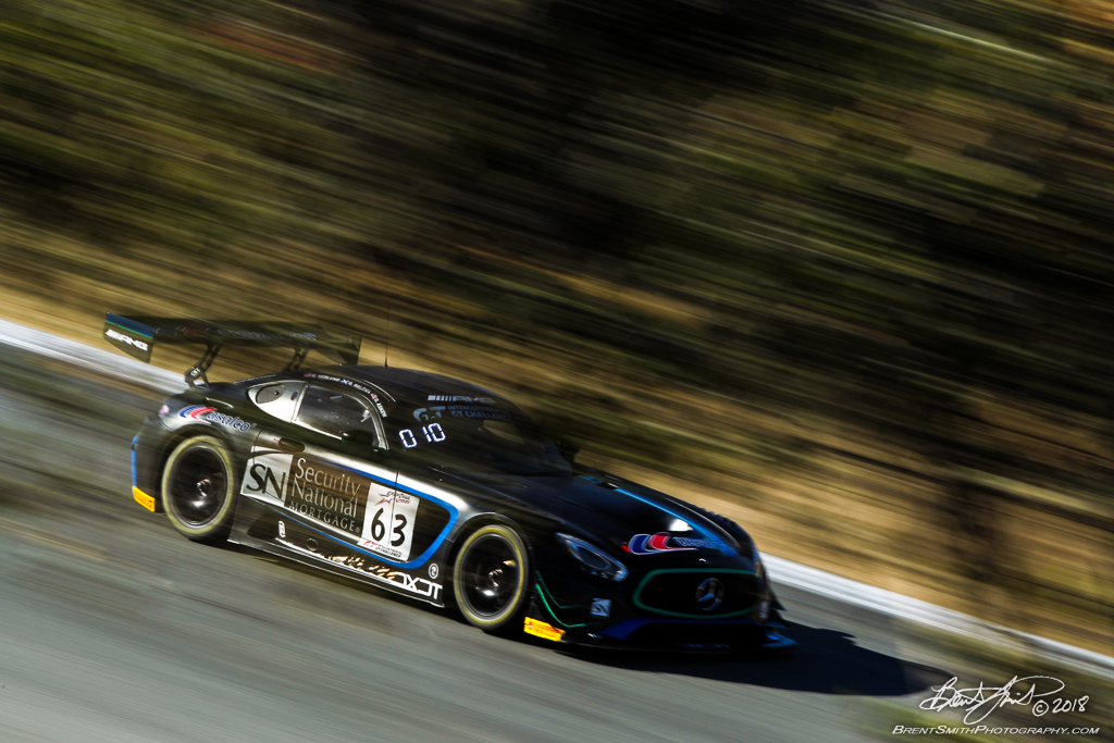 California 8 Hours - Intercontinental GT Challenge - Mazda Raceway Laguna Seca - 63 DXDT Racing Mercedes-AMG GT3, David Askew, Ryan Dalziel, Mike Hedlund