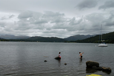 brief visit to Lake Windermere