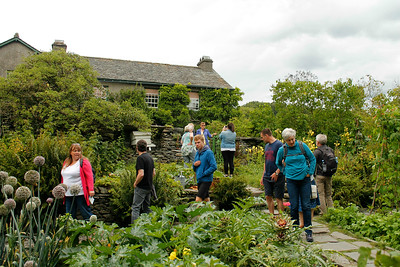 visit to Beatrix Potter's house Hill Top