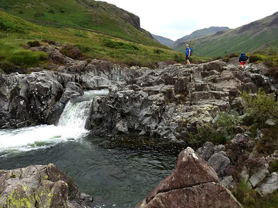At Kail Pot, one of the natural pools the river creates - unfortunately it was a bit too chilly for a wild swim