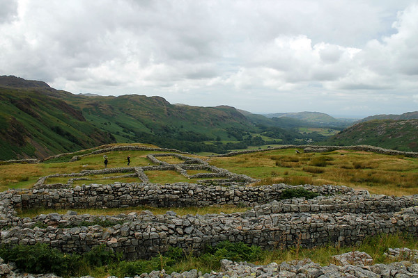Another day, another trip - this time a closer look at the Hardknott Fort
