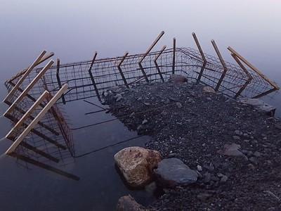 Dugnader for å lage landfeste til ny brygge med universiell utforming_ (5)