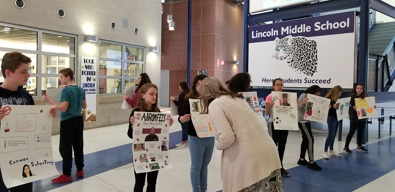 Lincoln Middle School Walk Out March 14 2018