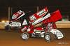 PA Sprint Car Speedweek - Lincoln Speedway - 24 Lucas Wolfe, 48 Danny Dietrich