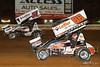 PA Sprint Car Speedweek - Lincoln Speedway - 51 Freddie Rahmer Jr., 88 Brandon Rahmer