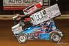 PA Sprint Car Speedweek - Lincoln Speedway - 88 Brandon Rahmer, 87 Alan Krimes