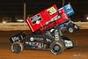 PA Sprint Car Speedweek - Lincoln Speedway - 39B Christopher Bell, 4 Parker Price Miller