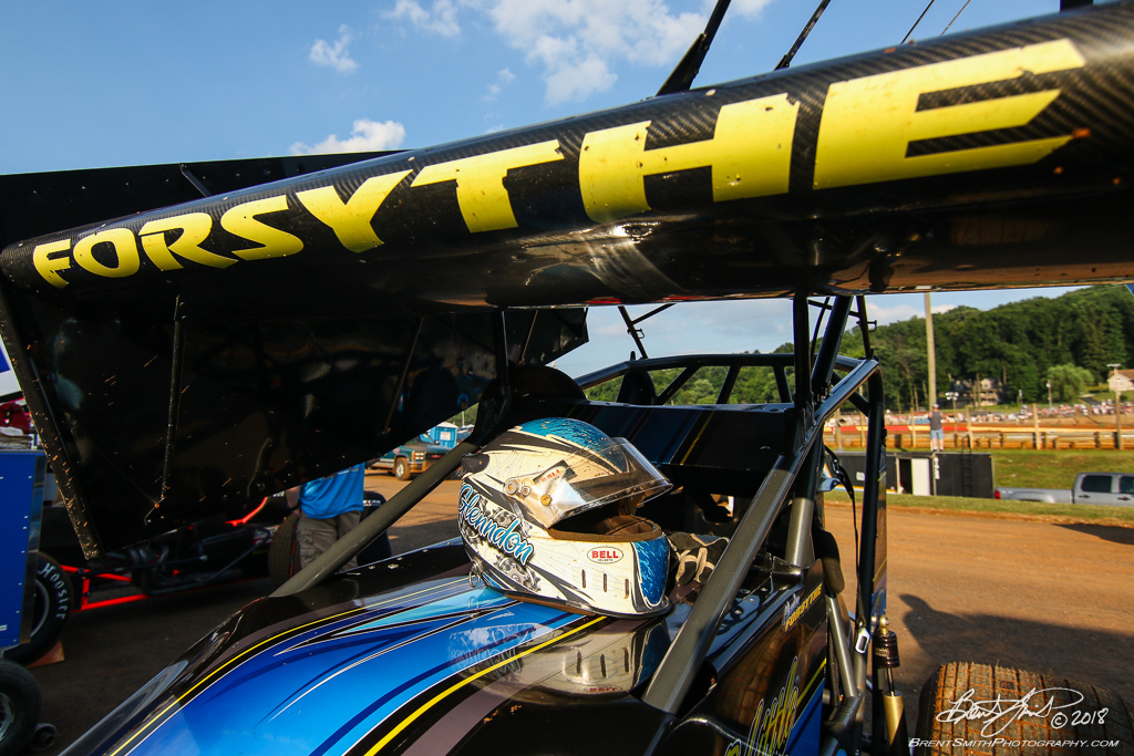 PA Sprint Car Speedweek - Lincoln Speedway - 2W Glenndon Forsythe
