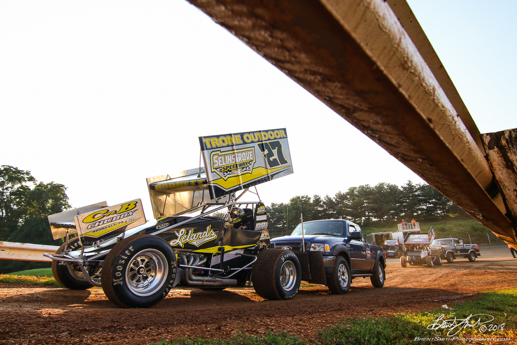 PA Sprint Car Speedweek - Lincoln Speedway - 27 Greg Hodnett