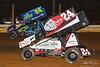 PA Sprint Car Speedweek - Lincoln Speedway - 24 Rico Abreu, 24 Lucas Wolfe