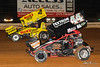 PA Sprint Car Speedweek - Lincoln Speedway - 4 Kasey Kahne, 44 Trey Starks