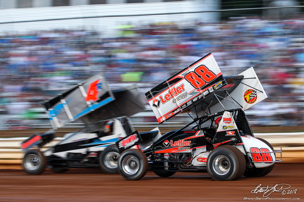 PA Sprint Car Speedweek - Lincoln Speedway - 88 Brandon Rahmer