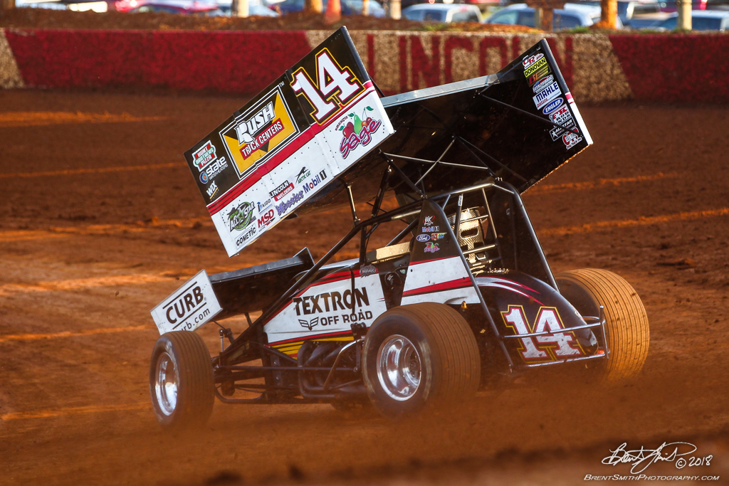 PA Sprint Car Speedweek - Lincoln Speedway - 14 Tony Stewart