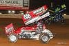 PA Sprint Car Speedweek - Lincoln Speedway - 48 Danny Dietrich, 24 Rico Abreu