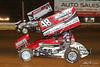 PA Sprint Car Speedweek - Lincoln Speedway - 57 Kyle Larson, 48 Danny Dietrich