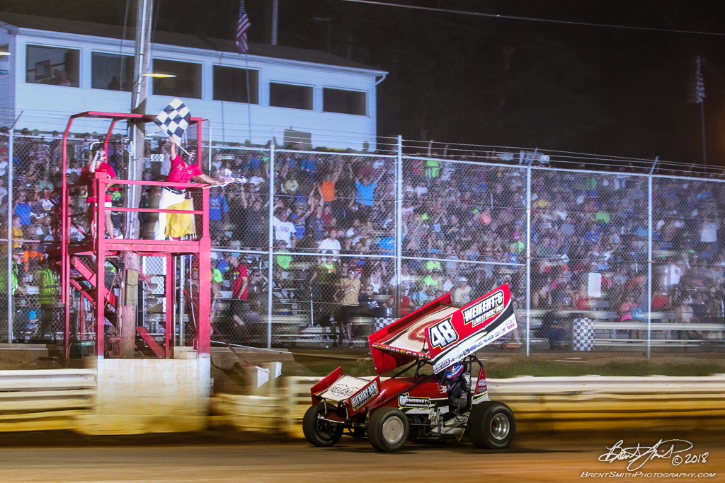 PA Sprint Car Speedweek - Lincoln Speedway - 48 Danny Dietrich