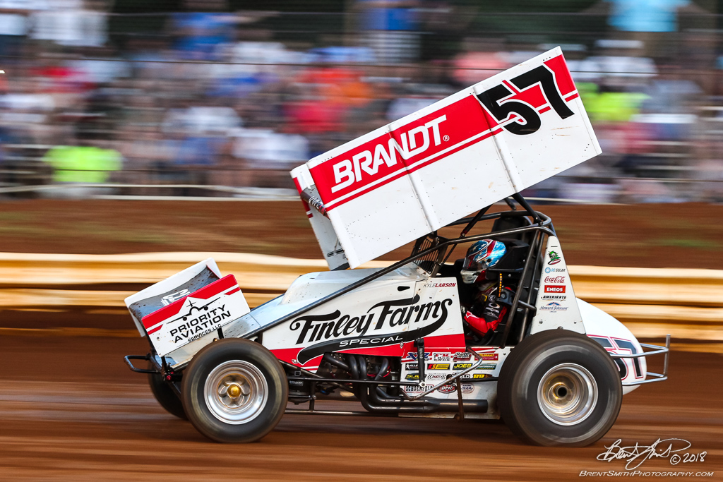 PA Sprint Car Speedweek - Lincoln Speedway - 57 Kyle Larson