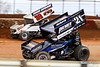 Lincoln Speedway - 39 Cory Haas, 21 Brian Montieth