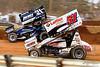 Lincoln Speedway - 21 Brian Montieth, 51 Freddie Rahmer Jr.