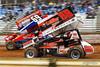 Lincoln Speedway - 88 Brandon Rahmer, 69 Tim Glatfelter
