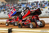 Lincoln Speedway - 17 Caleb Helms, 39M Anthony Macri