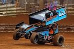 dirt track racing image - Lincoln Speedway - 73B Brett Michalski