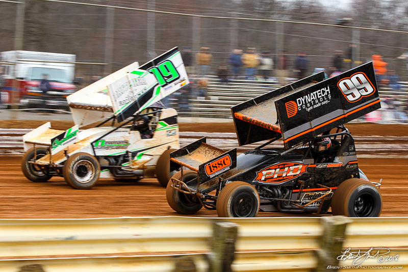 Lincoln Speedway - 19 Landon Myers, 99M Kyle Moody