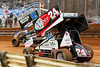 Lincoln Speedway - 24 Lucas Wolfe, 17b Bill Balog