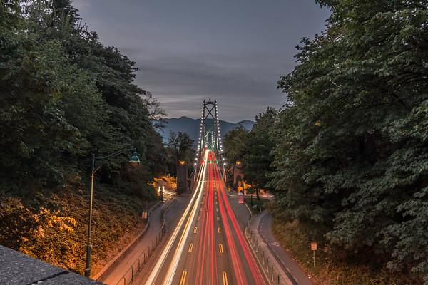 Lion's Gate Bridge - Stanley Park