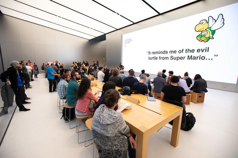 Live Art: Design Iconic Characters with @YiyingLu Co-Create @Apple UnionSqaure