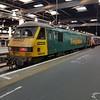90046 ex 1M11 Glasgow Sleeper at Euston