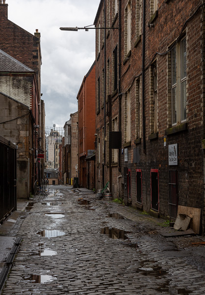 Glasgow back lane