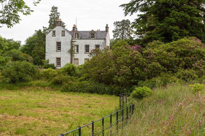 1745 House at Dunollie Castle