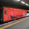 MK3 40805 complete with Hull vinyls at platform 0 at Kings Cross   31/03/18