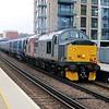 37601 drags 375829 past Imperial Wharf 1048/5Q58 Derby-Ramsgate   31/03/18