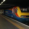 43075 seen at Kings Cross Platform 0      31/03/18