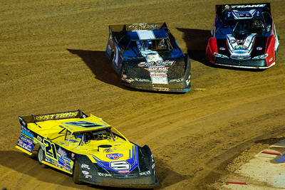 Billy Moyer (21), Will Vaught (1V) and Shannon Babb (18)